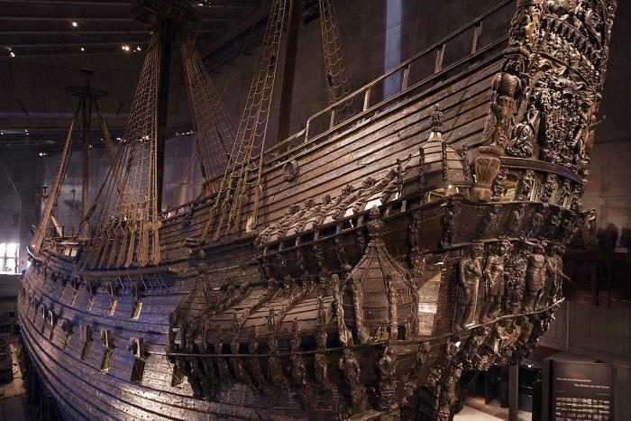 Корабль из дуба