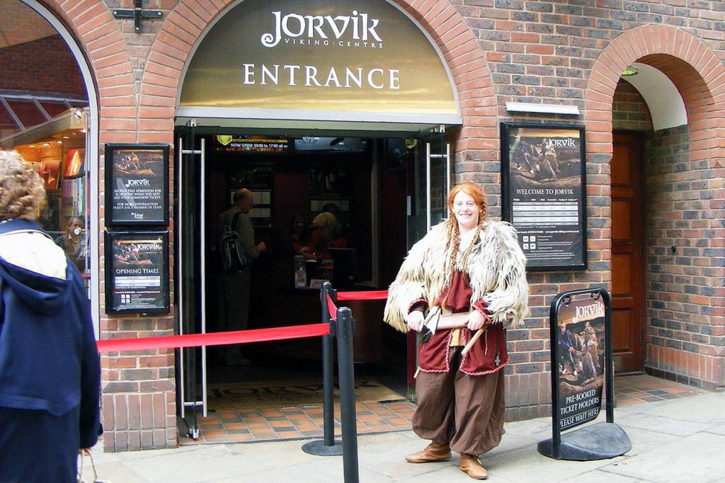 Музей Йорвик-Викинг-центр