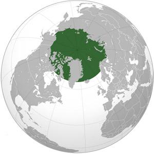 Где находится арктика и антарктика на карте