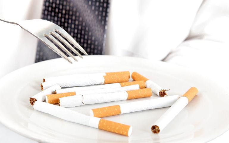Курение для похудения