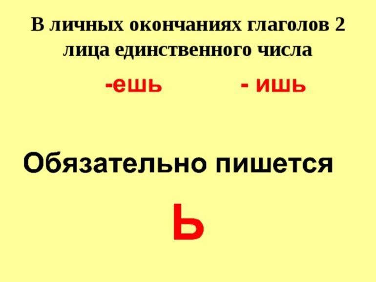 Правила написания мягкого знака