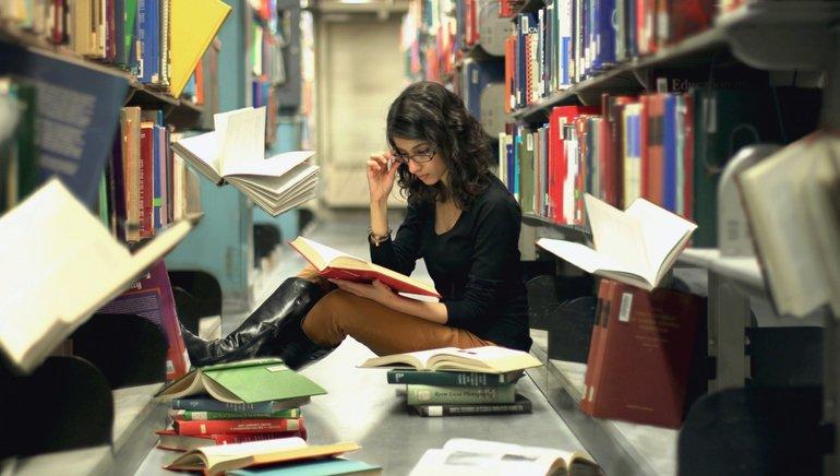 Подготовка к экзаменам в библиотеке