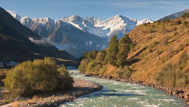 Река Кубань 🌊 географическое положение, режим и характер течения, бассейн, описание животного и растительного мира, хозяйственное использование и польза водоема
