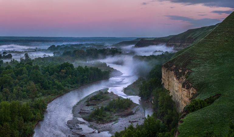 Ставропольский край река Кубань
