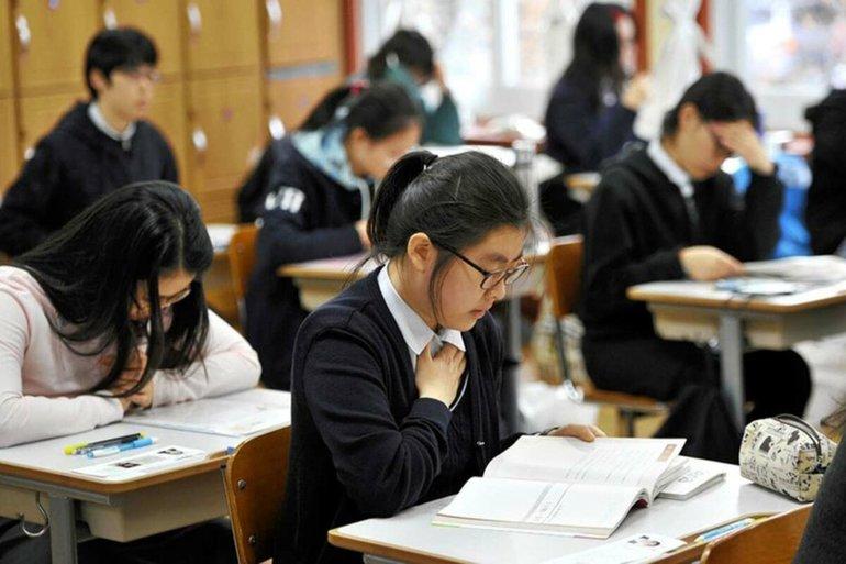 Сколько классов в корейской школе