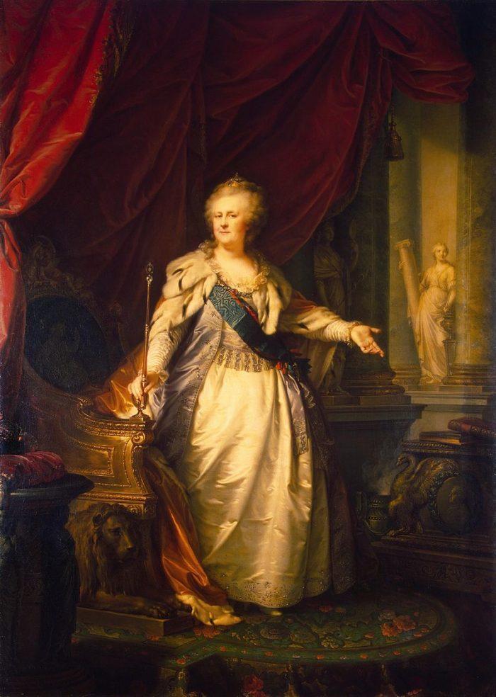 «Портрет Екатерины II». Л. Старший. 1793 год