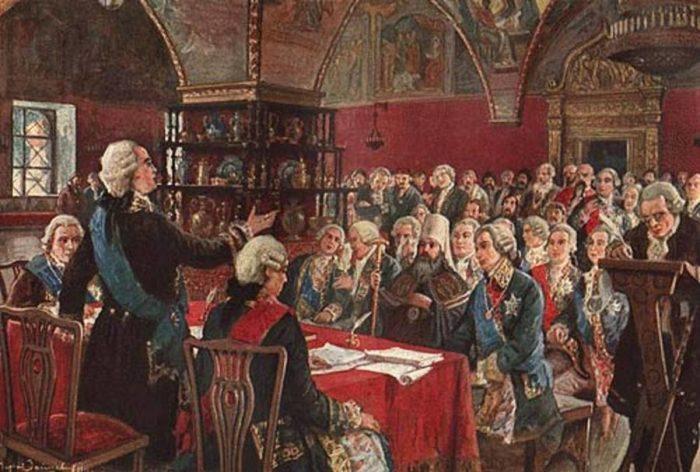Екатерининская комиссия 1767 года. Матвей Зайцев