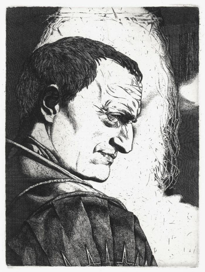 Понтий Пилат и Иешуа, художник Александра Федорова, 1979 год