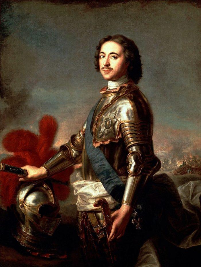 Портрет Петра I, Жан-Марк. Натье, 1717 год