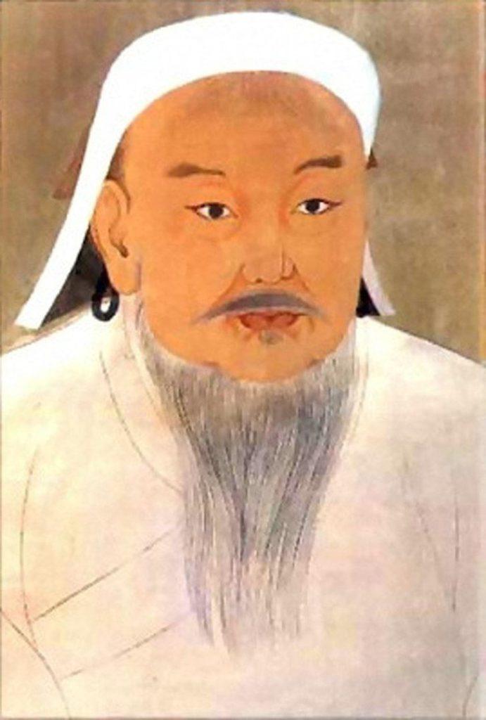 Рис. 2. Единственный портрет Чингис Хана