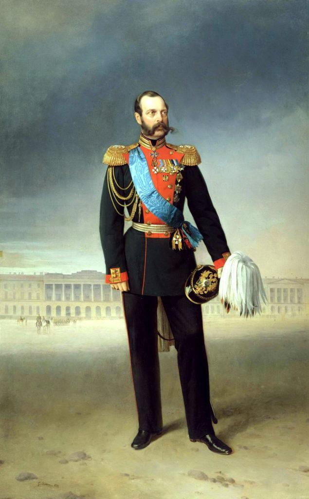 Рис. 1. «Император Александр II». Егор Ботман