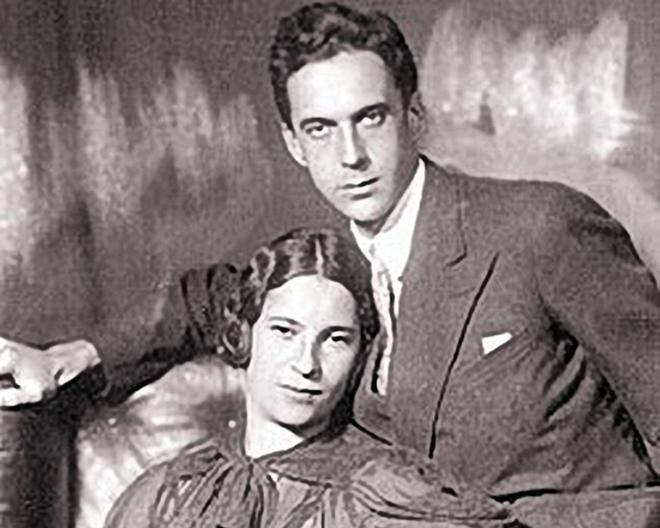 Рис. 5. Агния Барто с мужем Андреем