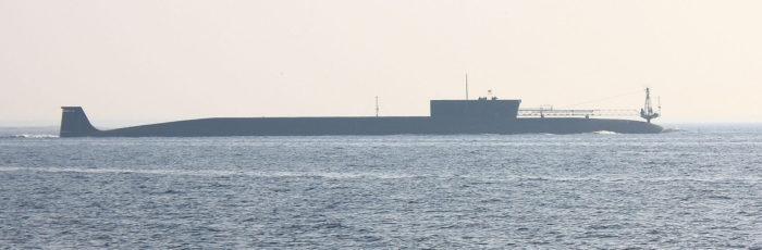 Рис. 2. Атомная подводная лодка «Юрий Долгорукий»