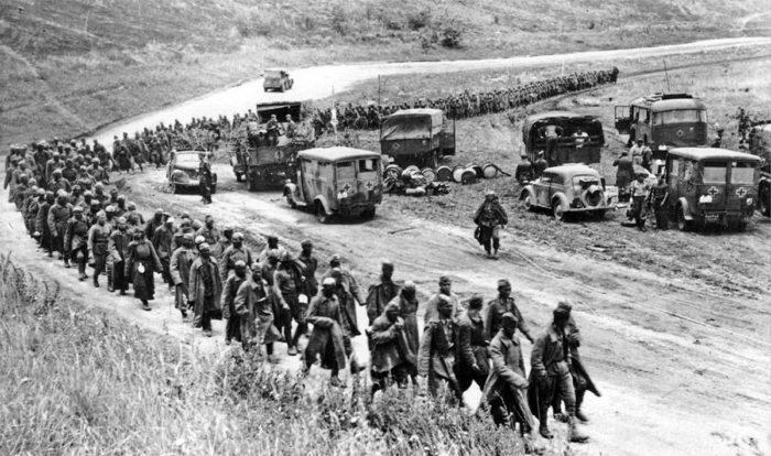 Рис. 4. Битва на Курской дуге