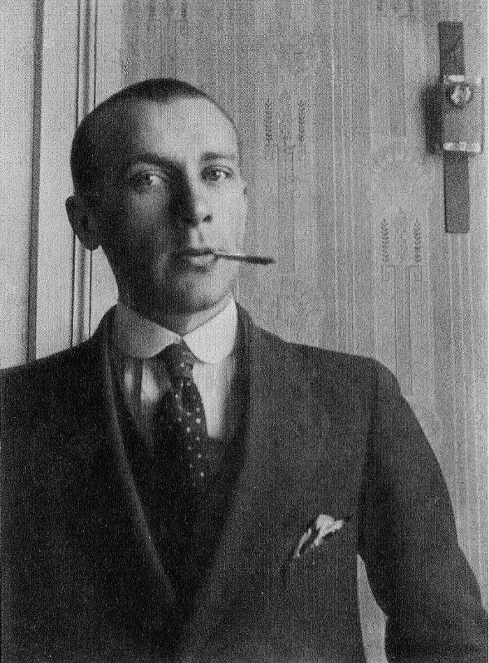 Рис. 4. Булгаков в 1910-х годах во время учебы в Киевском университете