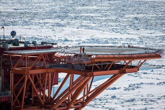 Рис. 3. Добыча нефти в Ханты-Мансийский автономном округе Югра