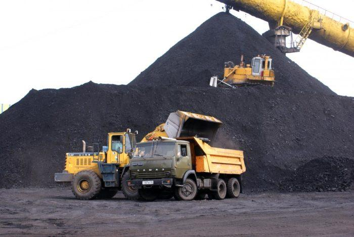 Рис. 6. Добычи угля в России