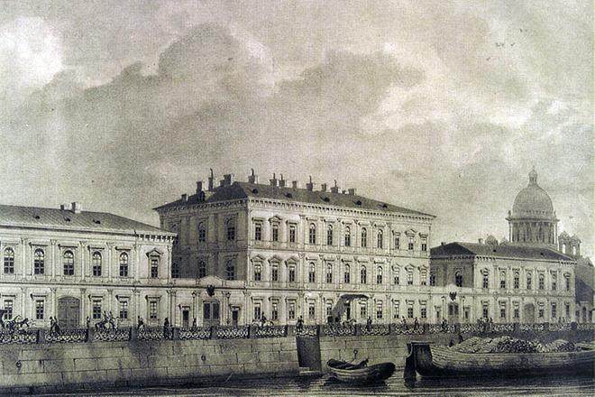 Рис. 4. Дом Михаила Ломоносова на Мойке, Санкт-Петербург