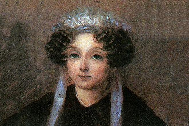 Рис. 4. Мария Ивановна Гоголь-Яновская, мать Николая Гоголя
