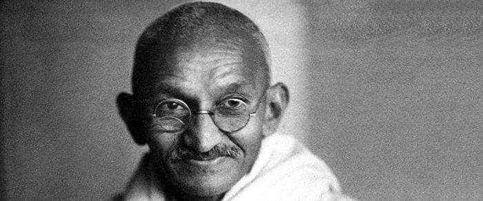 Рис. 2. Махатма Ганди - борец за независимость Индии от британских колонистов