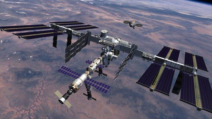 Рис. 4. Международная космическая станция
