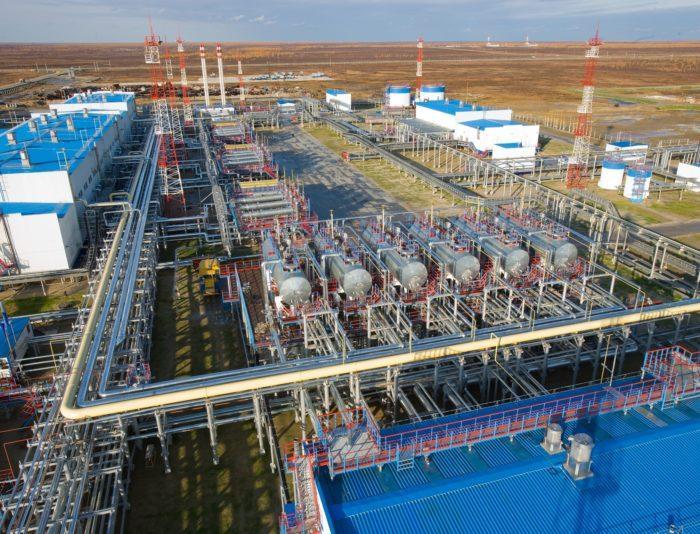 Рис. 4. Месторождение газа в Новом Уренгое