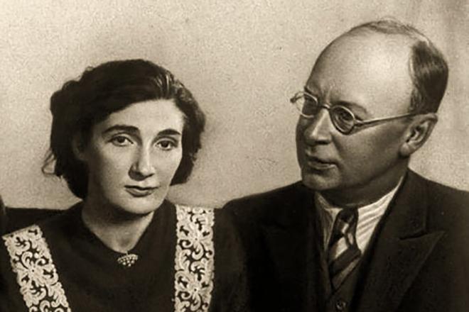 Рис. 5. Мира Мендельсон и Сергей Прокофьев