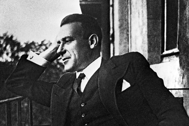 Рис. 1. Писатель Михаил Булгаков