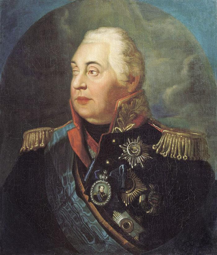 Рис. 1. Портрет князя М. И. Кутузова. Р. М. Волков. Между 1812 и 1830 гг.