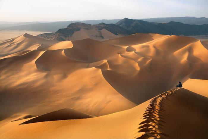 Рис. 1. Природная зона пустыня