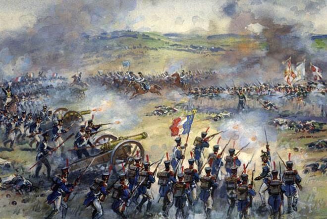 Рис. 5. Сражение при Бородино