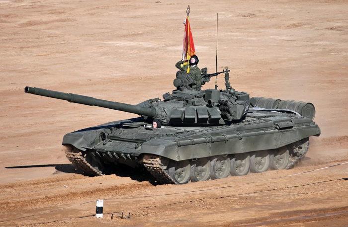 Рис. 3. Танк Т-72Б3