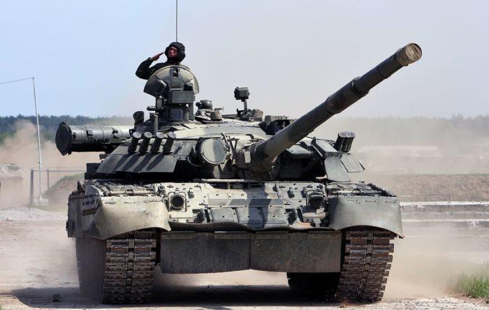 Рис. 2. Танк Т-80У