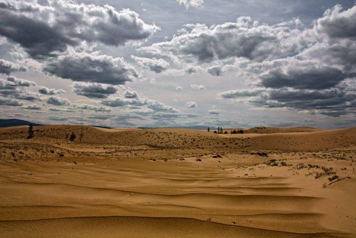 Рис. 2. Чарская пустыня. Забайкальский край