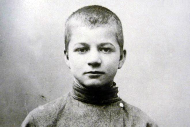 Рис. 2. Андрей Платонов в детстве
