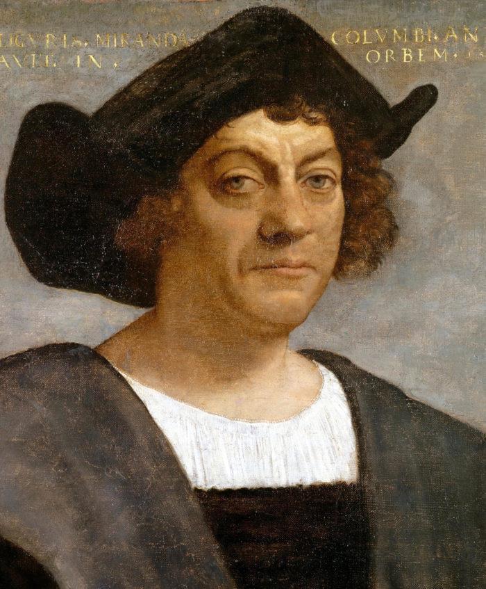 Рис. 1. Христофор Колумб. Себастьяно дель Пьомбо. 1519 год