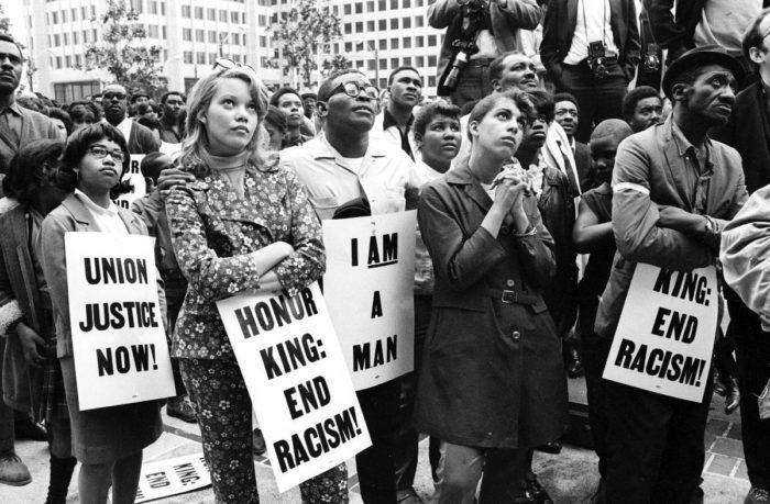 Рис. 4. Движение за гражданские права в США