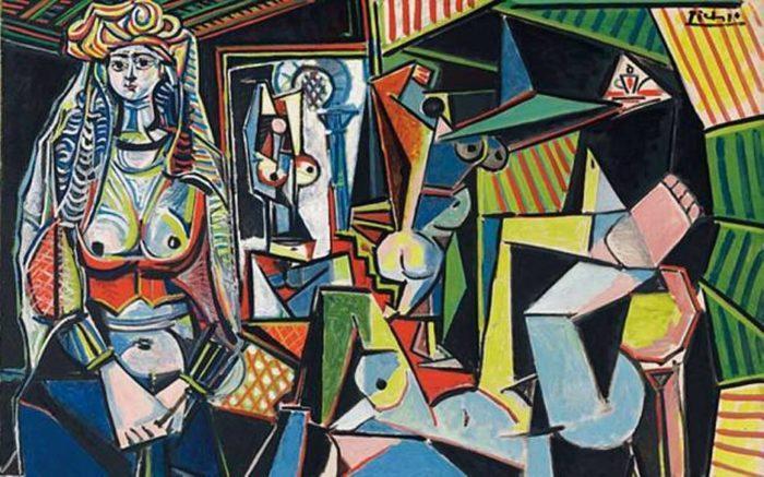 """Рис. 2. """"Алжирские женщины"""". Пабло Пикассо. 1955 год"""