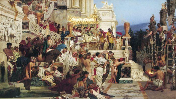 Рис. 2. Демократия в Древнем Риме