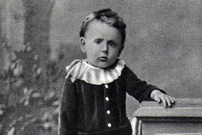 Рис. 2. Самуил Маршак в детстве