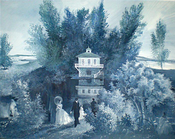 Рис. 3. «После бала» эскиз к иллюстрации В.Кожевниковой