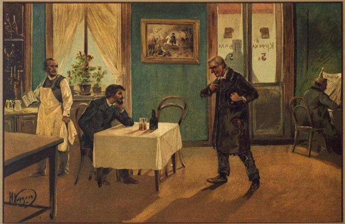 """Рис. 3. """"Преступление и наказание"""". Николай Каразин. 1893 год"""