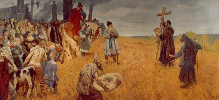 Рис. 3. Язычество и христианство в древней Руси