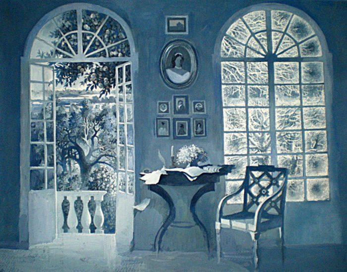 Рис. 4. «После бала» эскиз к иллюстрации В.Кожевниковой