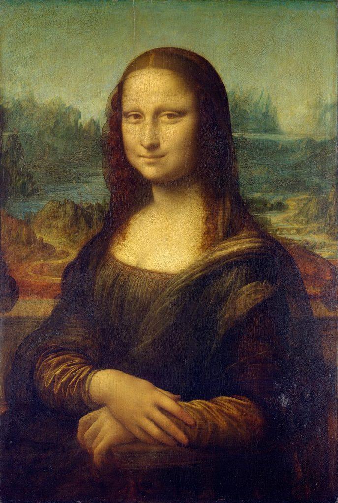 """Рис. 4. """"Мона Лиза"""". Леонардо да Вінчі. 1503—1519 год"""