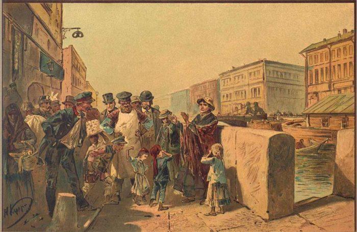 """Рис. 4. """"Преступление и наказание"""". Николай Каразин. 1893"""