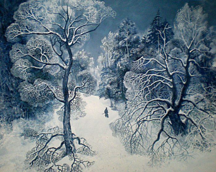 Рис. 5. «После бала» эскиз к иллюстрации В.Кожевниковой