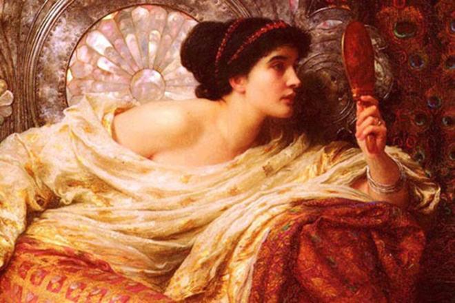 Рис. 4. Бактрийская княжна Роксана - первая жена Александра Македонского