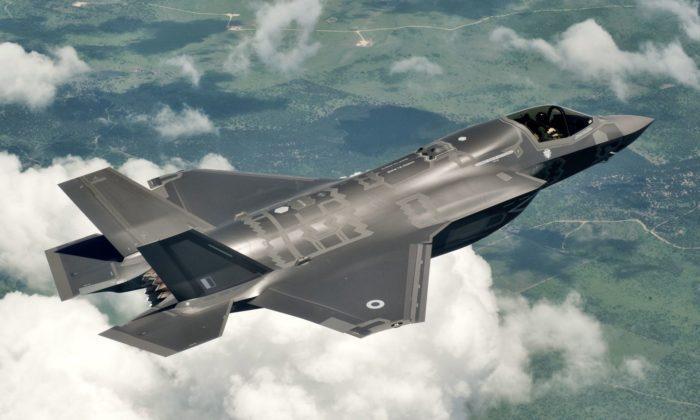 Рис. 6. Истребитель F-35B последнего поколения
