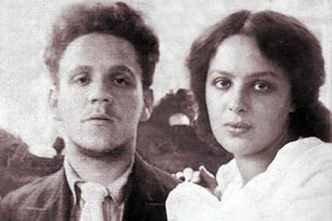 Рис. 4. Самуил Маршак и его жена Софья